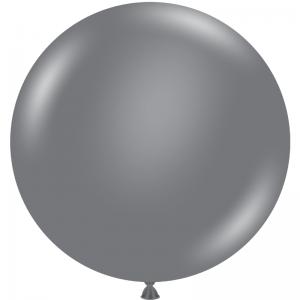 """Ballon 17"""" Gray Smoke"""