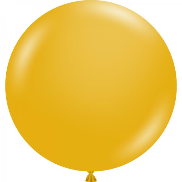 """Ballon 17"""" Mustard"""