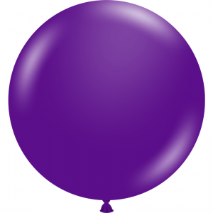 "Ballon 17"" Plum Purple"