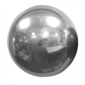 """Ballon Sphère 20"""" Argent Miroir"""