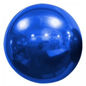 """Ballon Sphère 20"""" Bordeaux Bleu"""