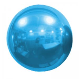 "Ballon Sphère 20"" Bleu Ciel Miroir"