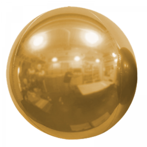 "Ballon Sphère 20"" Bronze Miroir"