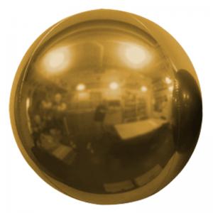 """Ballon Sphère 20"""" Or Miroir"""