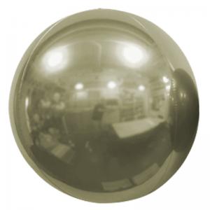 "Ballon Sphère 7"" Or Blanc Miroir"