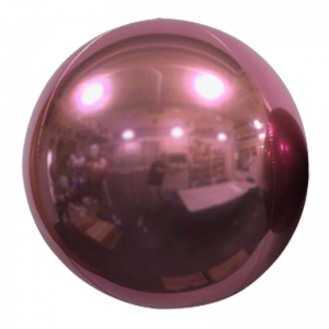 "Ballon Sphère 7"" Rose Perle Miroir"