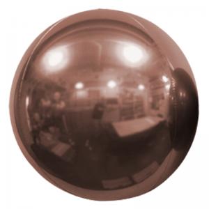 "Ballon Sphère 20"" Rose Gold Miroir"