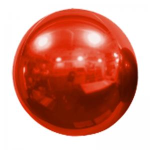 """Ballon Sphère 20"""" Rouge Miroir"""
