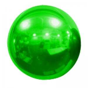 """Ballon Sphère 20"""" Vert Miroir"""