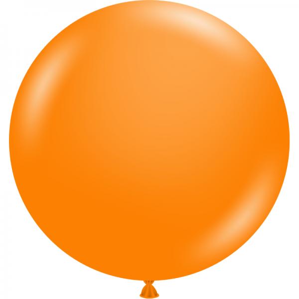 "Ballon 17"" Tangerine"