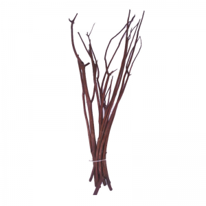 10 Branches Mitsumata Marron 50cm
